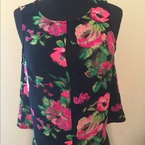 Crop Top cami top size small boutique